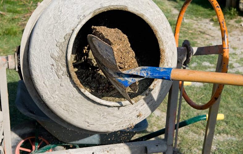 Как происходит приготовление бетонного раствора